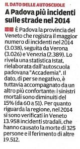Mattino di Padova del 12-01-16
